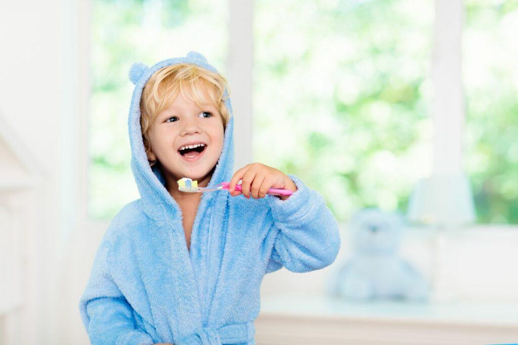 Quel nombre de dents a un enfant ?