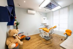 Premier rdv chez le dentiste pour bébé