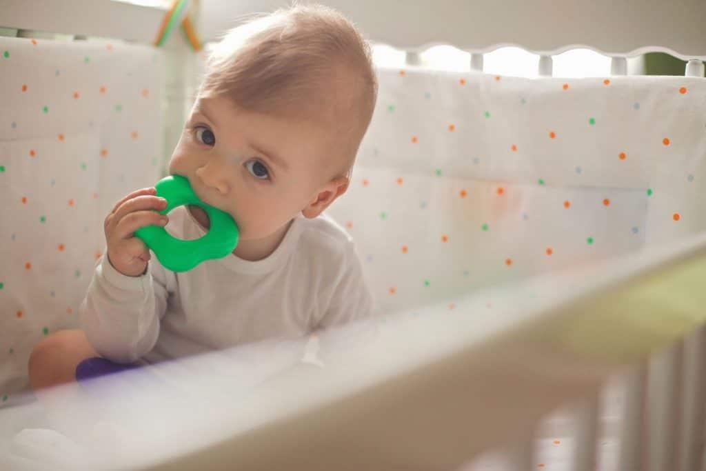 Anneau de dentition pour soulager les dents de bébé